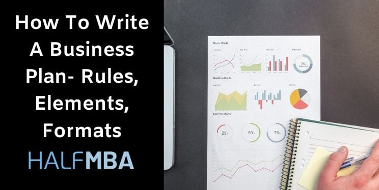 How To Write A Business Plan - Rules, Elements, Formats 9